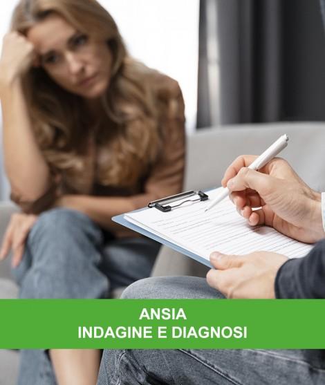 ANSIA - INDAGINE E DIAGNOSI